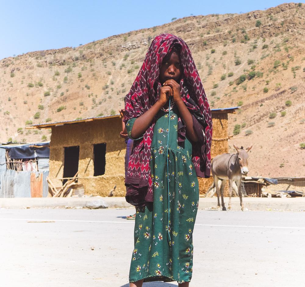 ethiopian girl woman