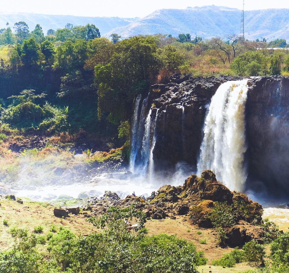 waterfal bahir dar ethiopie