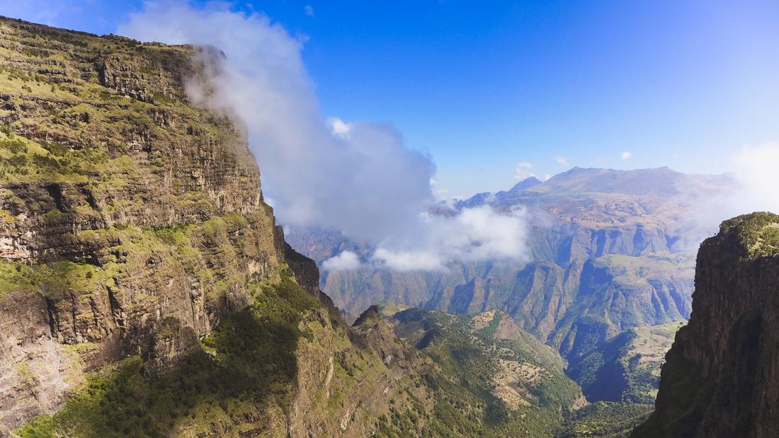 simien mountains views