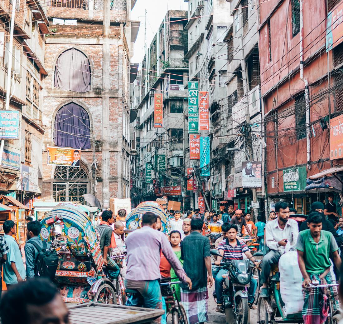 bangladesh dhaka streets