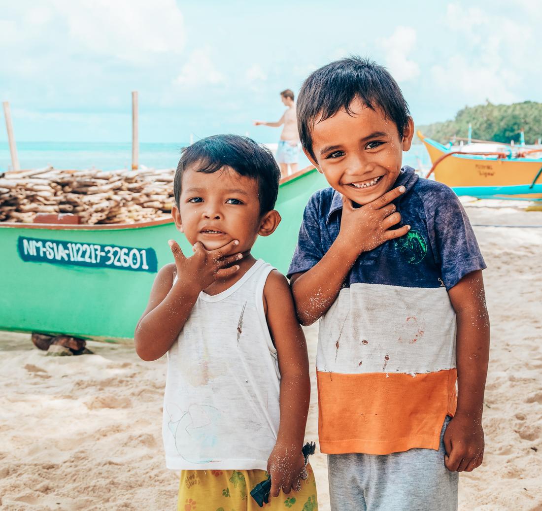 Kinderen in de Filipijnen