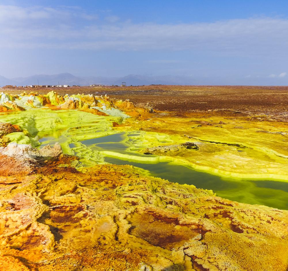nature ethiopia danakil depression