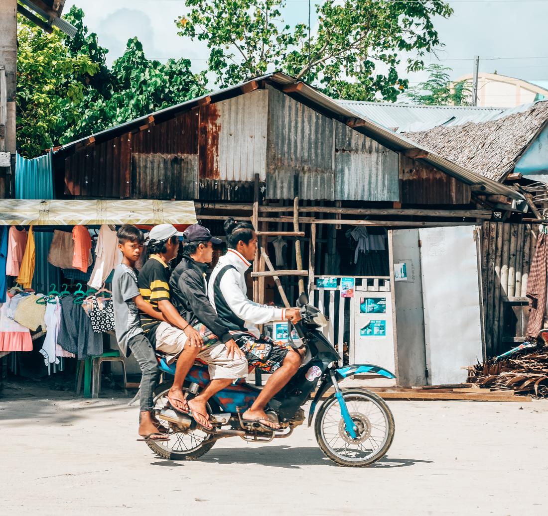 Locals in de Filipijnen